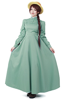 Howls Moving Castle Sophie Hatter Dress Cosplay Costume