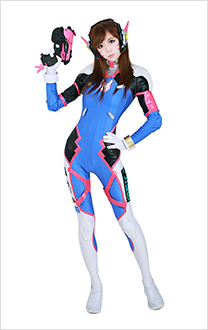 Overwatch D.Va Hana Song Cosplay Costume Cosplay Jumpsuit