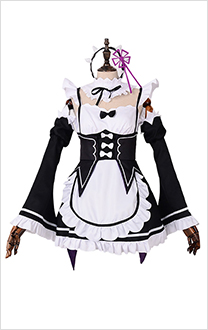 Re:Zero Starting Life in Another World Rem Cosplay Kostüm