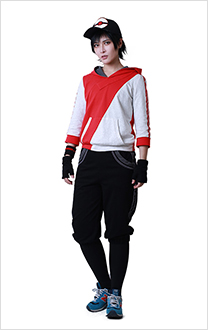 Pokemon Go Male Trainer Team Valor Cosplay Costume