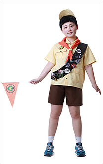 Anime Film Up Russell Cosplay Costume