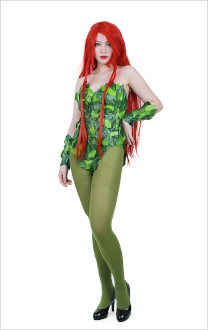 Batman Poison Ivy Cosplay Costume