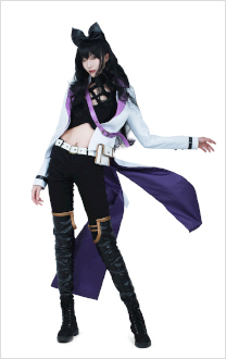 RWBY Volume 4 Blake Belladonna Cosplay Costume
