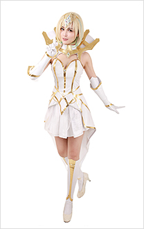 League Of Legends Elementalist Lux Light Cosplay Costume