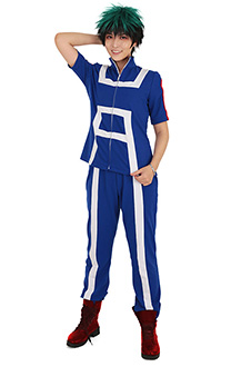 My Hero Academia Mon Héros Académie Cosplay U.A High Costume de Gym Vêtement de Sport