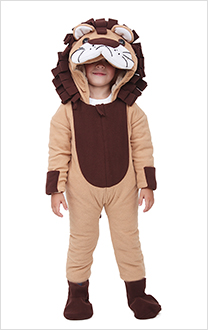Little Lion Baby Lion Halloween Costume pour enfants Mascotte