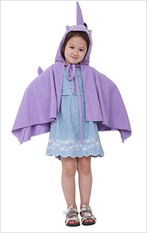 Little Pony Unicorn Kids Halloween Cosplay Costume Cloak