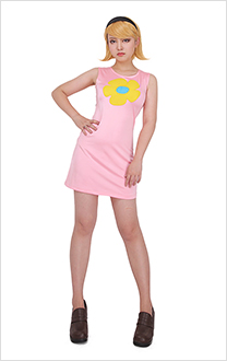 The Grim Adventures of Billy and Mandy Mandy Cosplay Dress Costume