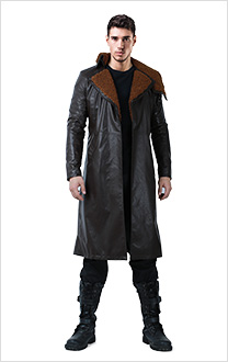 Blade Runner 2049 K Replicant Cosplay Coat Costume