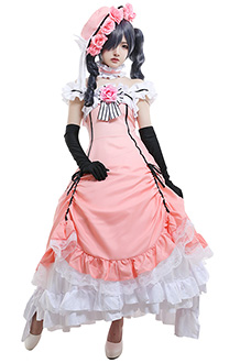 Cat3dm Black Butler Ciel Weiblich Cosplay Kostüm