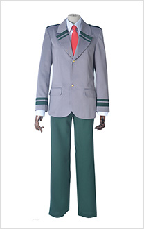 [Free US Economy Shipping] My Hero Academia Male Cosplay Costume School Uniform including Long Tie and Short Tie