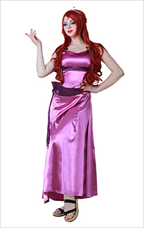 Hercules Princess Megara Cosplay Dress Costume