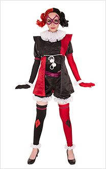 Harley Quinn Ninja Cosplay Costume Jumpsuit Inspired by Batman Ninja