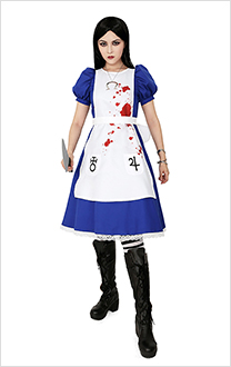 Alice: Madness Returns Cosplay Kostüm Kleid