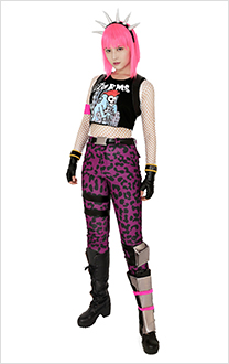 Fortnite Power Chord Cosplay Costume