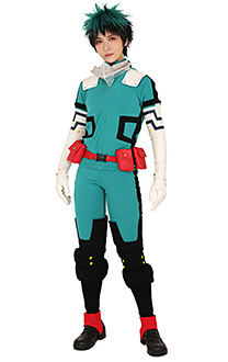 My Hero Academia Midoriya Izuku Deku Cosplay Costume Gamma Battle Suit Fighting Suit