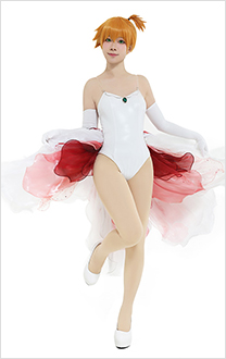 PM Misty Goldeen Swimsuit Cosplay Dress