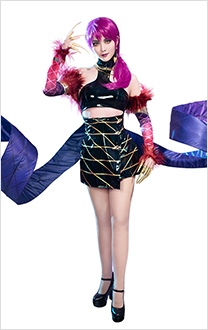 League of Legends K/DA Pop Star Girls Evelynn Cosplay Costume
