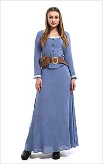 Westworld Dolores Abernathy Cosplay Dress Costume