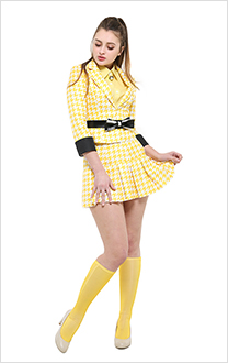 Heathers The Musical Heather McNamara Cosplay Uniform Costume