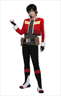 Keith Cosplay Costume Jacket with Belt