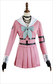Danganronpa V3: Killing Harmony Iruma Miu School Uniform Full Set Cosplay Costume