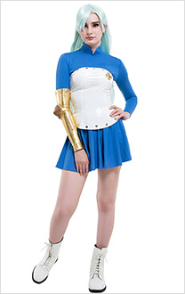 The Seven Deadly Sins Saison 2 Costume de Cosplay Elizabeth Liones