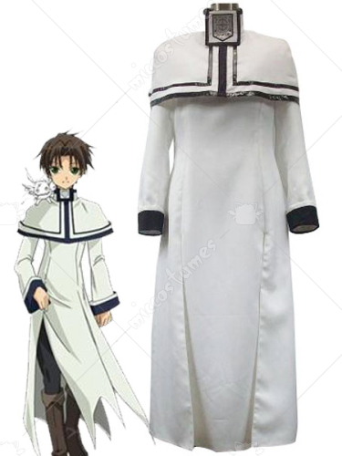 07 Ghost Hakuren Oak Cosplay Costume