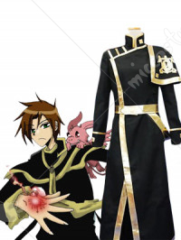 07 Ghost Teito Klein Barsburg Empire Uniform Cosplay Costume