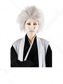 Bleach 10th Division Captain Toshiro Hitsugaya Cosplay Perruque