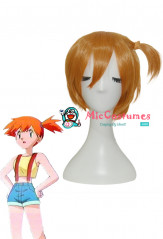 Pokemon Misty Cosplay Wig