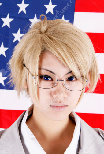 Axis Powers Hetalia America Cosplay Wig Sales At Miccostumescom For