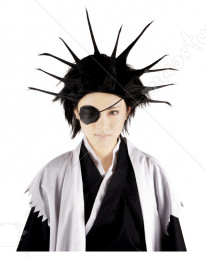 Bleach 11th Division Captain Kenpachi Zaraki Cosplay Wig