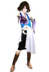 Final Fantasy Xii Yuna Lenne Song Cosplay Costume