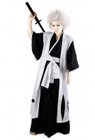 Bleach 10th Division Captain Toshiro Hitsugaya Cosplay Costume