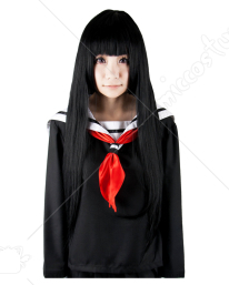 Hell Girl Ai Enma Cosplay Perruque