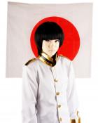 Axis Powers Hetalia Japan Kiku Honda Cosplay Wig