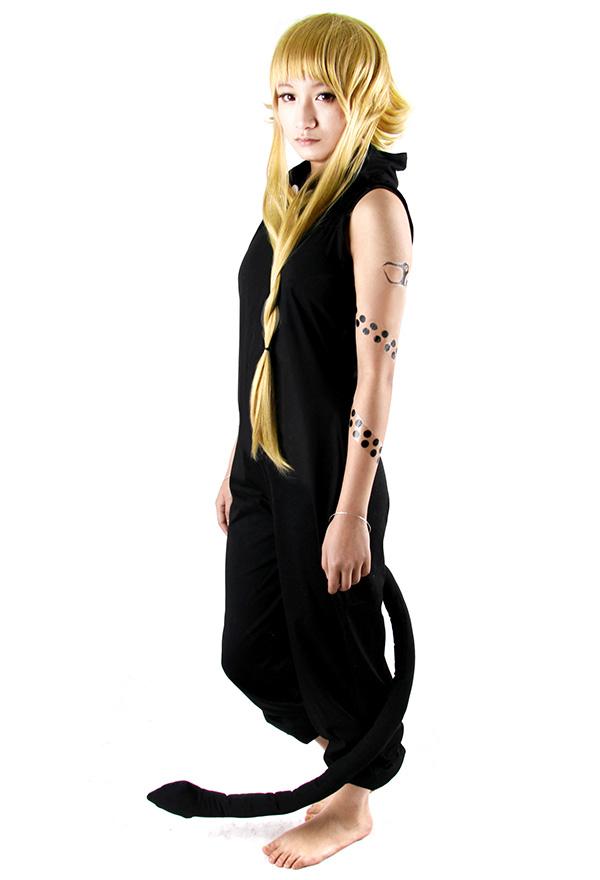Soul Eater Medusa Schwarzes Cosplay Kostüm