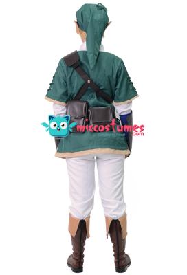 Zelda Twilight Princess Link Cosplay Costume