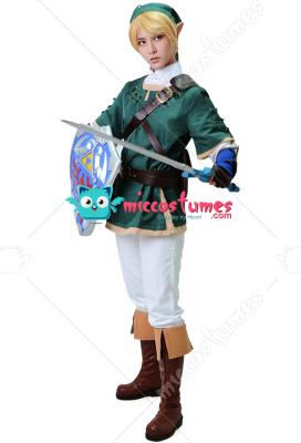 [Free US Economy Shipping] Zelda Twilight Princess Link Cosplay Costume