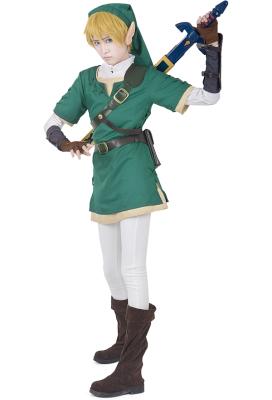 Premium Zelda Twilight Princess Link Cosplay Costume