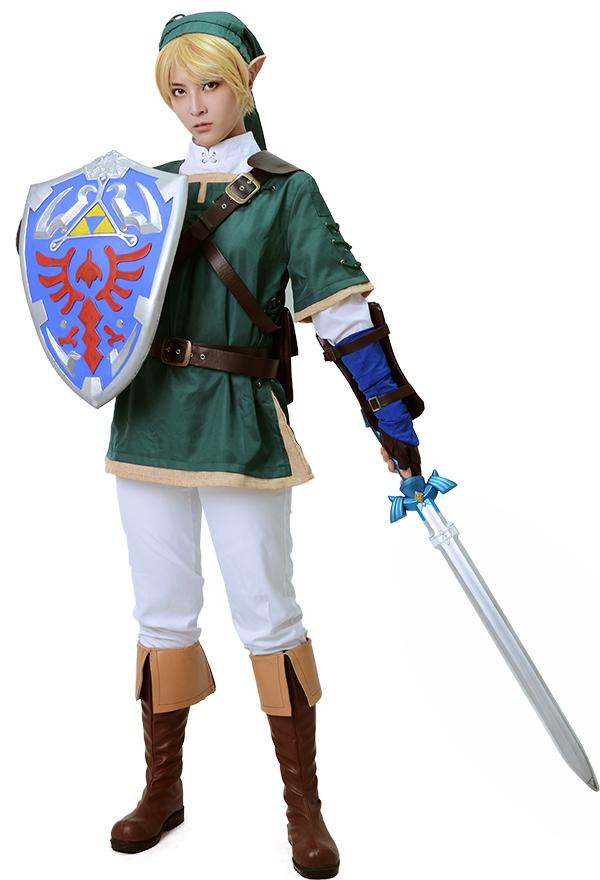 Zelda Twilight Prinzessin Link Cosplay Kostüme