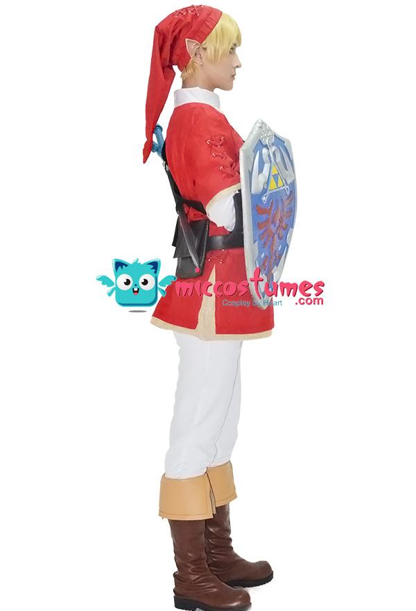 The Legend of Zelda Link Red Cosplay Kostüme