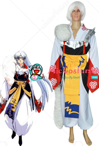 Inuyasha Sesshomaru Cosplay Custome