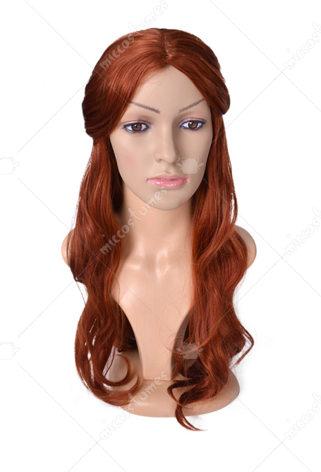 Game of Thrones The Red Woman Lady Melisandre of Asshai Melisandre Cosplay Wig