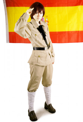 Axis Powers Hetalia Antonio Spain Cosplay Costume