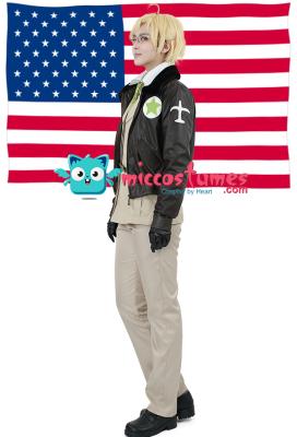 Hetalia Axis Powers America Cosplay Costume