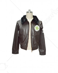 [Free Shipping]Hetalia Axis Powers America PU Cosplay Coat