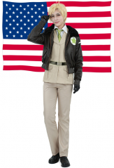 Hetalia Axis Powers America Cosplay Costume