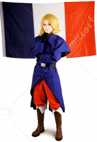 Hetalia Axis Powers Cosplay Costume  Fran?ais